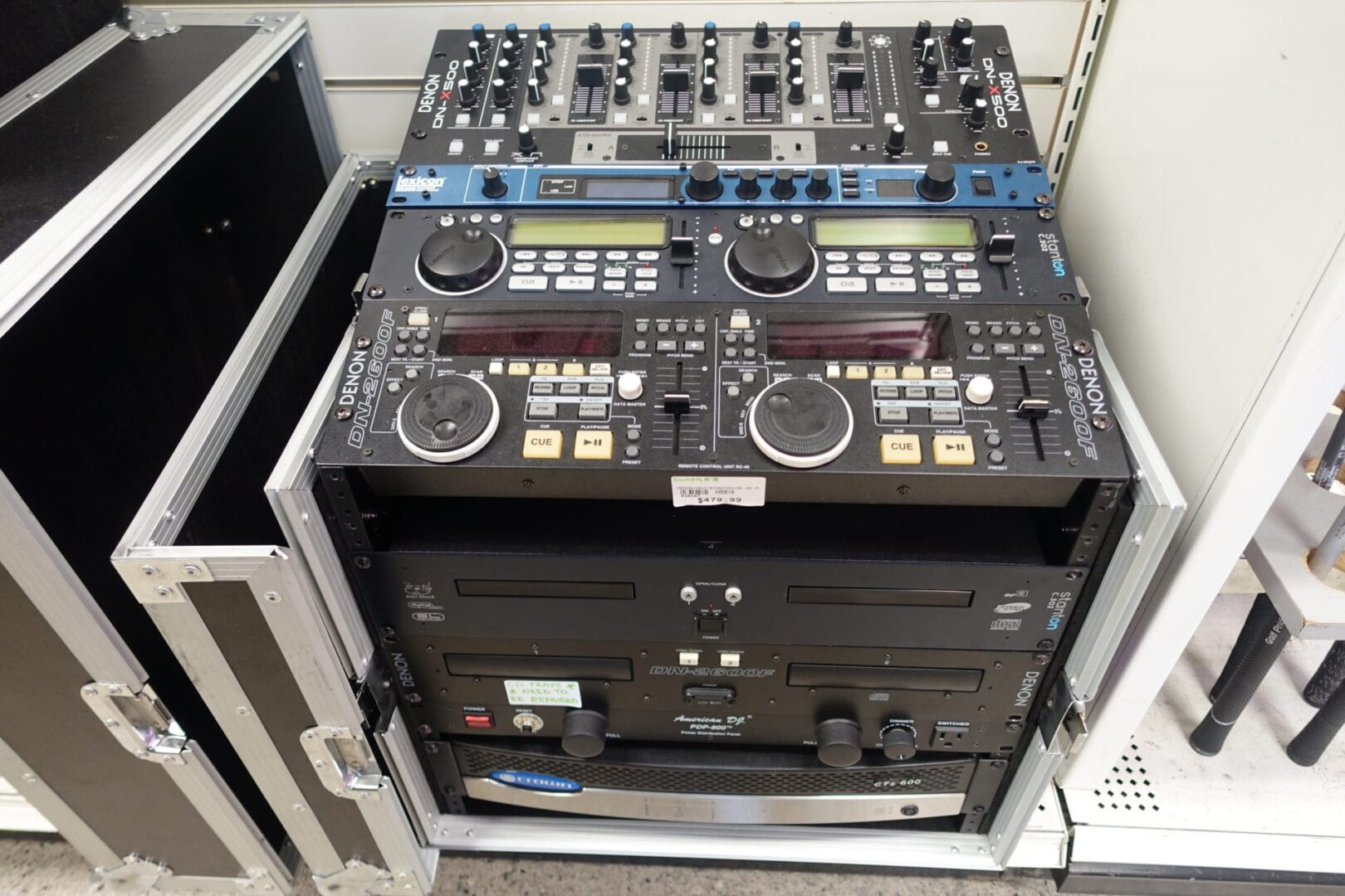 DJ Equalizer, PA and Mixer Outfit - TradeLand